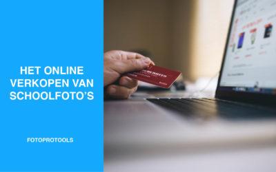 Het online verkopen van schoolfoto's