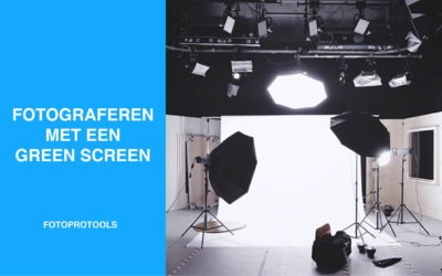 Fotograferen met een green screen